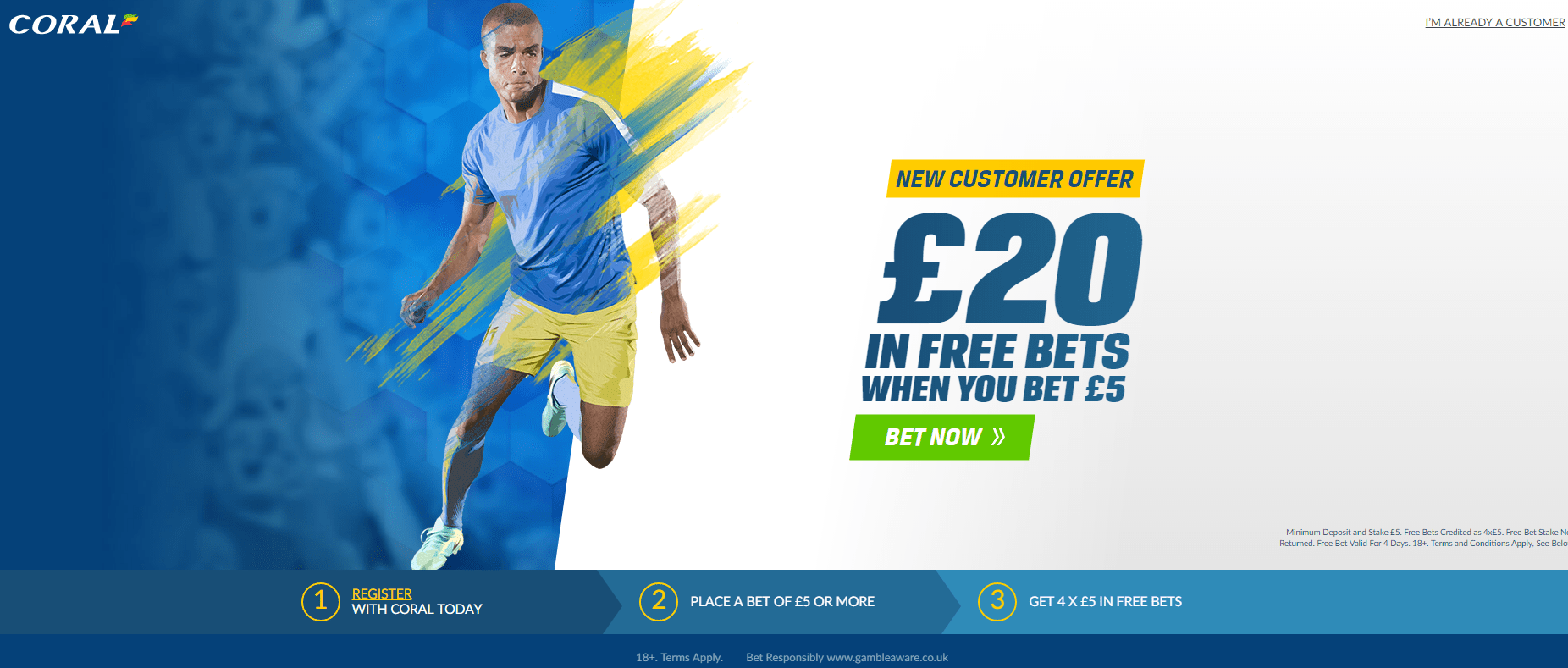 Matched Betting - Coral offer