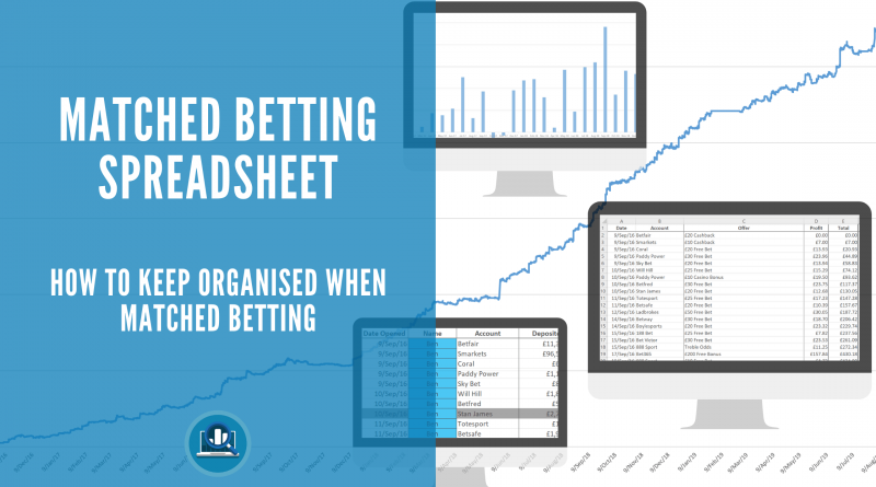 Matched betting spreadsheet blog