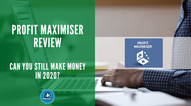 Profit Maximiser review blog