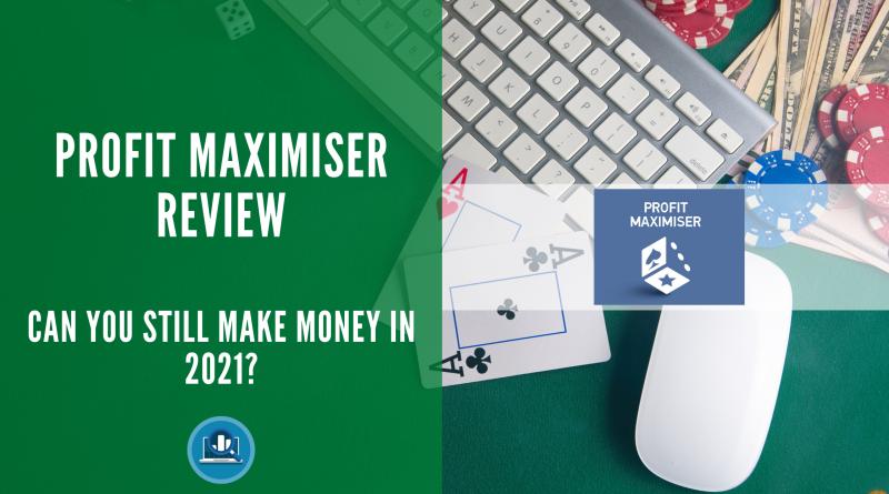 Profit Maximiser Review 2021 Blog Post