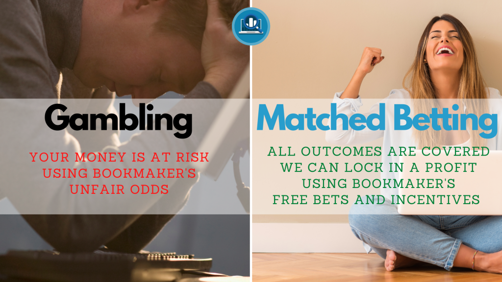 Gambling on over 2.5 goals vs Matched Betting example