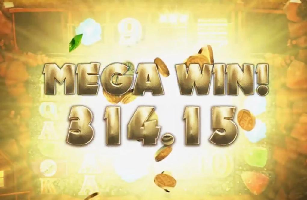 Mega Win On A Slot